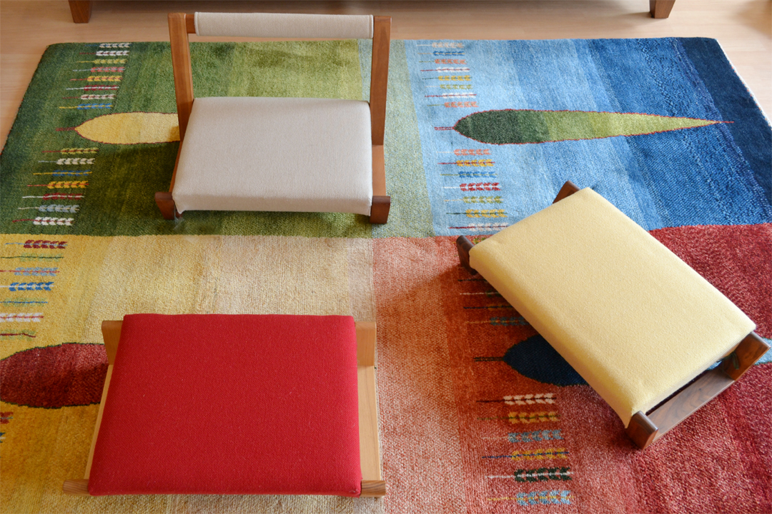寛げる座椅子。村澤一晃デザインのzagaku(ザガク) | www.vigore ...