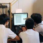 名古屋市内私立中学校、職場体験