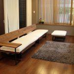 約3.4mのロングソファ。広松木工「FREX」シリーズ